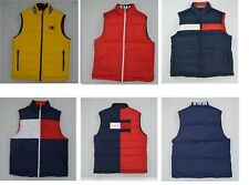 NWT Men's Tommy Hilfiger Reversible Sleeveless Puffer Jacket Outerwear Reg $150