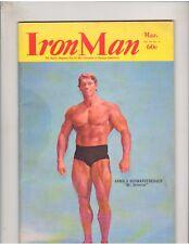 IRONMAN bodybuilding muscle magazine/ARNOLD SCHWARZENEGGER & FRANCO COLUMBU 3-70