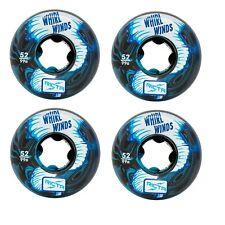 Ricta 52mm Whirlwinds Blue Black Swirl Skateboard Wheels 99a