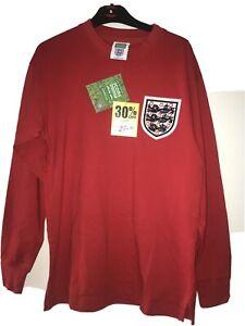 England Retro football shirt 1966 Size S