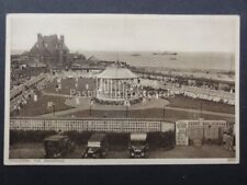 Norfolk: Gorleston THE BANDSTAND shows couples dancing c1933 by Photochrom 64955
