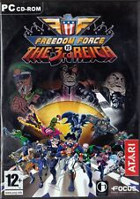 FREEDOM FORCE vs THE 3rd REICH - PC - ITALIANO - idea regalo!