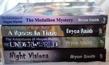 4 PBs Bryon Smith SIGNED Adventures of Megan Martin Medallion Mystery Space