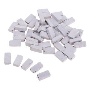 Lovoski 1/16 Mini Gray Brick Model for Sand Armor Wall Building 1.7x0.9cm