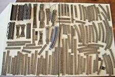 Lot of 100 N Scale Track Straight Curve Trestle Decoupler Switches Atlas Peco +