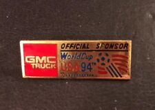 Lapel Pin - Soccer World Cup 94 GMC Trucks Official Sponsor