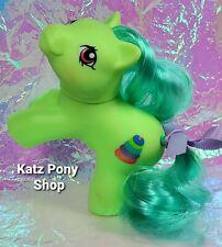 HQG1C Custom G1 MLP Style Playful Baby Pony 💜 TIPPER 💜 w Accessories! GREEN