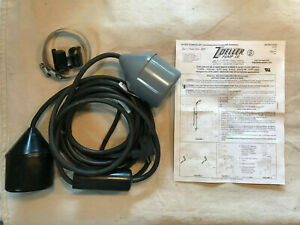 Zoeller 10-0229 Double Piggyback Variable Level Float Switch 115V/1HP 15 Ft.Cord