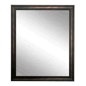 "BrandtWorks Clouded Bronze Wall Mirror, 25"" x 30"" - BM013M"
