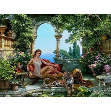 Goddess picture Oil Painting Home Decor DIY Paint By Number Kit On Canvas 40X50