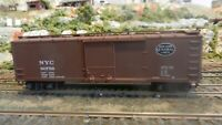 Walthers HO  40' Wood  DS Boxcar, New York Central, Upgraded, Exc.