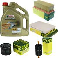 Castrol Edge 5L 5W-30 Motor-Öl+MANN-FILTER Set Paket Inspektion Kit 10212747