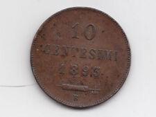 U440-S.MARINO-10 CENT 1893