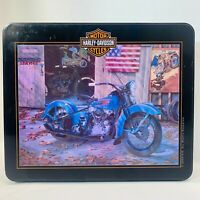 Harley Davidson Knucklehead Motorcycle (1000 Piece Puzzle & Collector's Tin)