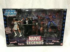 Marvel Legends URBAN LEGENDS Box of 4 NIB DAREDEVIL SPIDER-MAN PUNISHER ELEKTRA