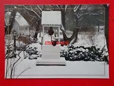 POSTCARD USA HOLIDAY SNOW WILLIAMSBURG VIRGINIA