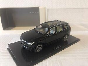 NOREV 1:43 Volvo XC 90 Onyx Noir Maquette de Voiture Cadeau Rare de Suède