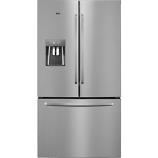 AEG RMB76311NX 91cm 'American' In Stainless Steel Frost Free Fridge Freezer