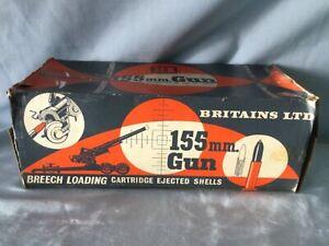 Original Vintage - BRITAINS 1:32 - ARTILLERY FIELD GUN 155mm
