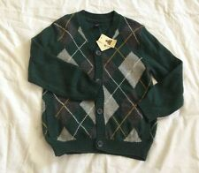 BABY GAP CARDIGAN GREEN -SIZE 5T