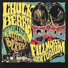Live at the Fillmore Auditorium [Bonus Tracks #1] by Chuck Berry (CD, Jun-1994, Rebound Records)