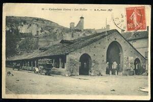 38   CREMIEU   les halles   1912   (82)