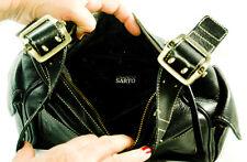 Franco Sarto Vintage Black Leather Purse Shoulder Bag