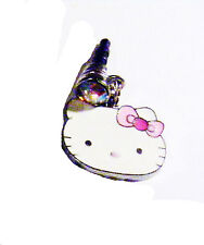 hello kitty phone charm dust plug cell phone bling purple with bow