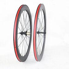 23 wide 60mm Carbon Wheelset Clincher 700C Road Bicycle Rim Tape 3k Matt Basalt