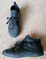 Adidas Black Astro Turf Football Boots Uk Size 2