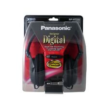 Genuine Panasonic RP-HT225 Headband Headphones Bass Rich Hifi Volume - Black