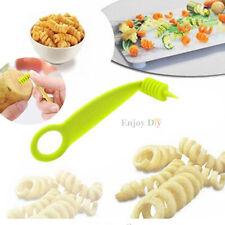 1 Pcs Hand Spiral Screw Slicer Potato Carrot Cucumber Vegetable Spiral Knife