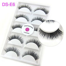 Wholesale 10 Boxes/Lot Handmade Real Mink Cross Beauty Winged False Eyelashes
