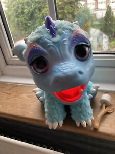 Fur Real Friend Torch My Blazin' Dragon Interactive Toy Tested Working