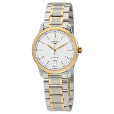Longines Master 18K Yellow Gold and Steel Automatic Mens Watch L26285127