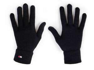 Damen Handschuhe Tommy Hilfiger Schwarz AW0AW10732-BDS