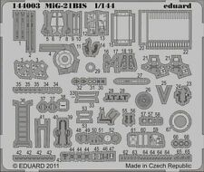 Eduard 1/144 Mikoyan MiG-21bis etch for Eduard kit # 144003
