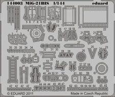 Eduard 1/144 Mikoyan MiG-21bis etch for Eduard kit # 144003