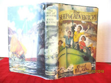 Enid Blyton THE SHIP OF ADVENTURE copy jacket 1964 HC illus by STUART TRESILIAN