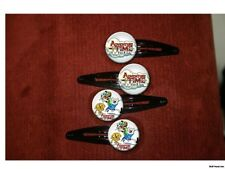 Adventure Time Backpack Fin and Jake set of 4 barrettes