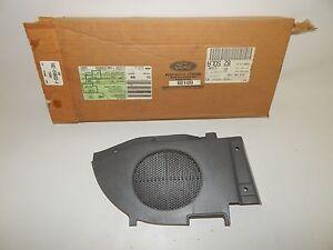 New OEM 1994-1996 Ford Aspire Door Panel Speaker Cover Trim Panel Piece Gray