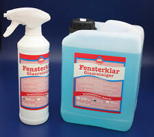3 L FENSTERKLAR GLASREINIGER GLAS FENSTER FENSTERPUTZMITTEL GLASS CLEANER