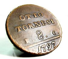 NAPOLI-1797 (Ferdinando IV) da 8 Tornesi