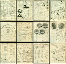 1728 ISAAC NEWTON  PHYSICS PEMBERTON PHILOSOPHY GRAVITY LAWS MOTION LIGHT PLATES