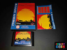 JUEGO SEGA MEGA DRIVE THE LION KING  (PAL) GERMAN VERSION!