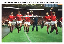 MANCHESTER UNITED WEMBLEY F.A.CUP WINNING PARADE 1963