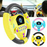 Kids Backseat Electronic Steering Wheel Toy Children Driver Car Game Sound Toys