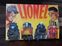 VINTAGE 1954 LIONEL TRAIN CATALOG MAGAZINE AMAZING GRAPHICS ANTIQUE  ESTATE FIND