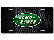 Land Rover Aluminum Car Auto License Plate Abstract Art New British Carbon Bump