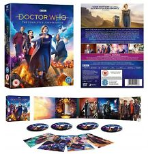 DR WHO 2018 Series 11 Doctor JODIE WHITTAKER, Graham, Yaz, Ryan  R2/4 DVD not US